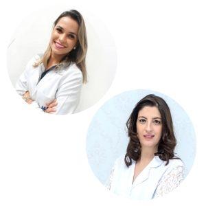 Aline Marques e Ligia Noffs